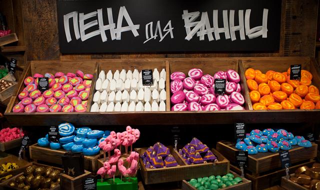 LUSH Russia открыл самый большой магазин в России